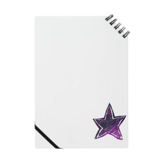ムラサキ滲んでる星 Notes