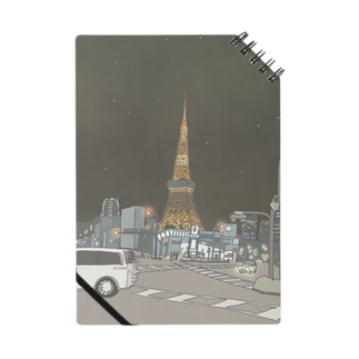 TOKYO TOWER NOTE BOOK Notes