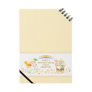 ピッフィー&パッピィー オレンジストライプ Notes