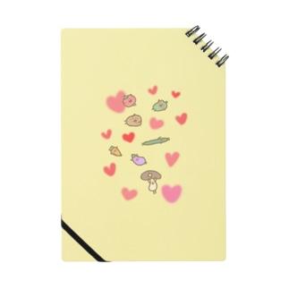 仲良し野菜のべじさんず Notes