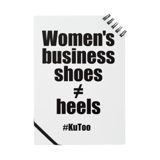 「Women's business shoes ≠ heels」 ノート Notes