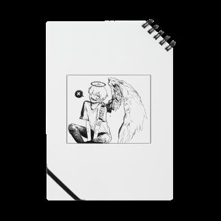 らくがきの天使くんノート Notes