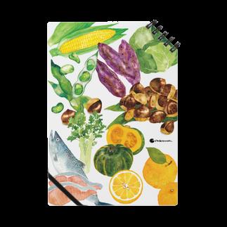 松の舎のたべものノート ノート