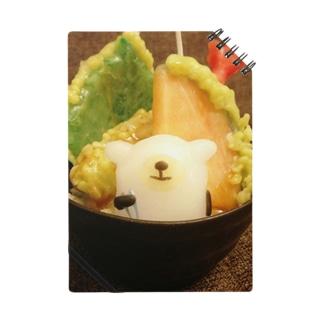 ヒツジの天丼キャンドル Notes