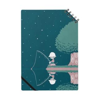 ほら、よるの釣り ノート