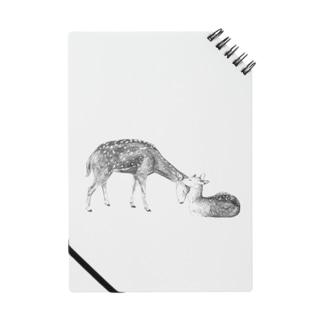鹿の親子 Notes