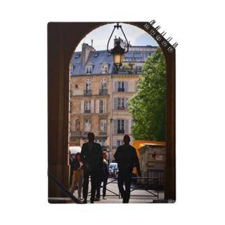 パリの街角シリーズ Notes