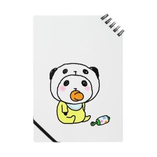 ベイビーパンダinぱんだ(ガラガラ) Notes