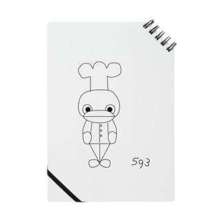 かわいい593 Notes