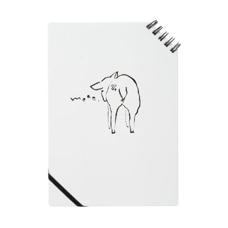 子羊のおしりがキュートなノート Notes