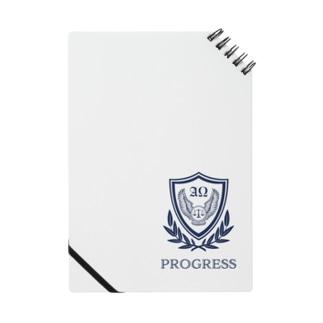 PROGRESSナナメリングノート-ホワイト Notes