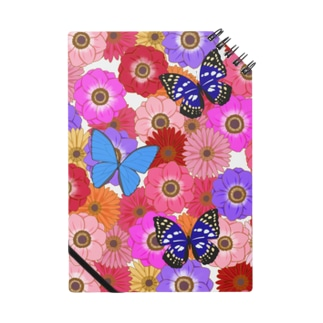 Flower & Butterfly Notes