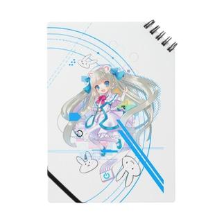 Optical fiber girl White Notes