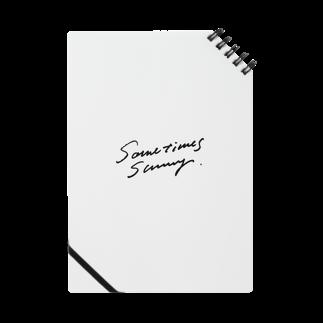 YAKYUBO STOREのSometimes Sunnyノートノート