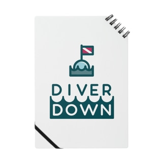 Diver Downグッズ Notes