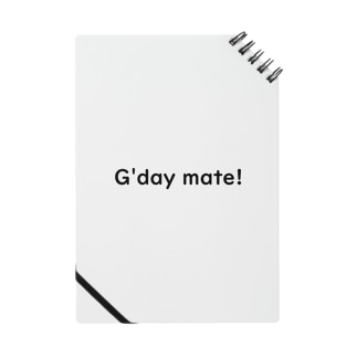 G'day mate! Notes
