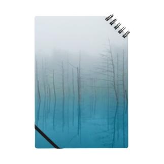 青い池 Notes