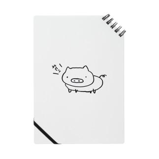ブヒ豚(白豚):鳴き声黒 Notes