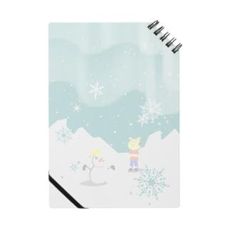 ピグマと雪だるま ノート