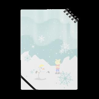 片陸遼助のピグマと雪だるま ノート