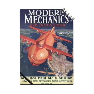 空想科学雑誌 MODERN MECHANICS 1929-7 Notes