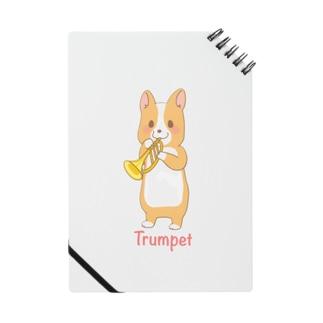 吹奏楽わんこ♪ コーギー×トランペット Notes