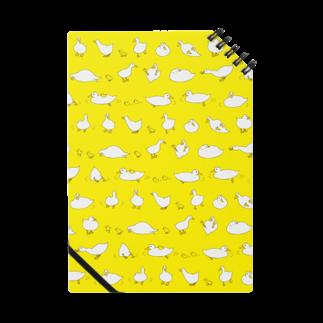 デザインオフィスbard(バード)の気ままなアヒルさんノート ノート