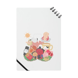 子宝縁起物欲張りセット Notebook