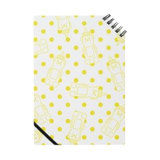 Honey bear (yellow dots) Notes