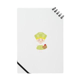 8月誕生石ペリドットちゃん Notes
