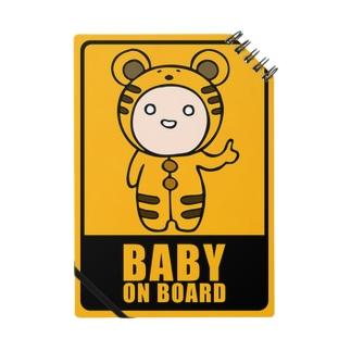 BABY on Board (ノートトラ) Notes