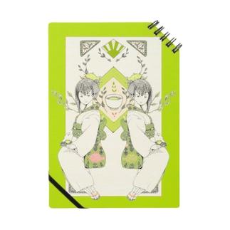【和風好きさん必見!】お茶屋のお嬢さん ノート