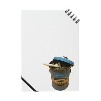 ゴミ箱灰皿 Notes
