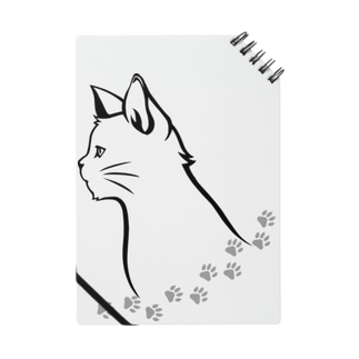 猫と足跡 Notes