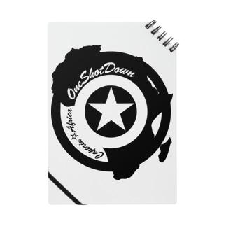 キャプテン☆アフリカ アフリカンシールド(シングルカラー) ノート