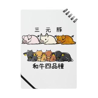 日本のお肉 Notes