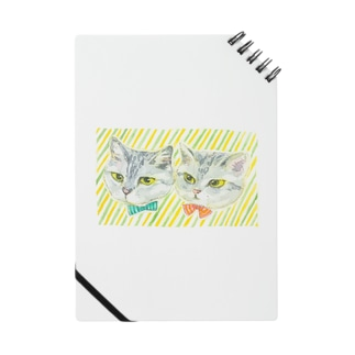 just right(猫の絵ブログ) Notebook