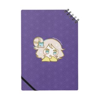 ちどりノート(紫) ノート