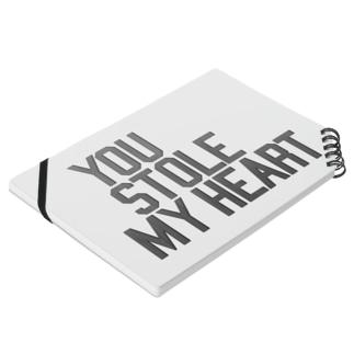 you stolen my heart ノート