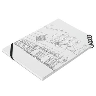 線画kitchen Notes
