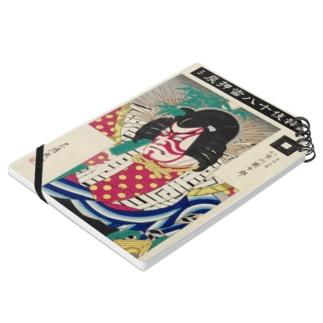 『 歌舞伎十八番押戻シ 九世市川團十郎の青竹五郎 』 Notes