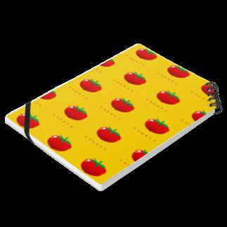 似顔絵 KURI屋のトマト Notesの平置き