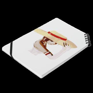 甕邨(ようそん)の帽子の少女 Notesの平置き