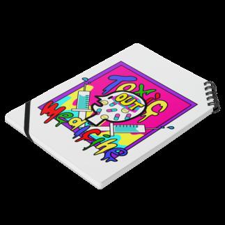 🤑NANAMI🤑の△Toxic medicine△ Notesの平置き