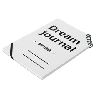 夢日記 ベットの所に置いて書こう Notes
