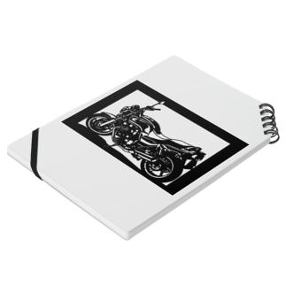 HONDA CB750切り絵デザイン Notes