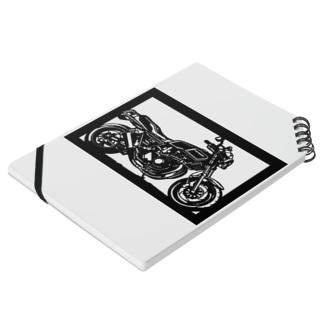 KAWASAKI Z750FX切り絵デザイン Notes