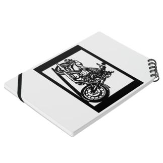 HARLEY-DAVIDSON スポーツスターXL883R切り絵デザイン Notes