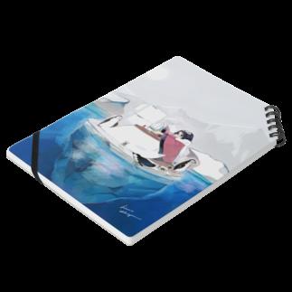 hima://のUDON Notesの平置き