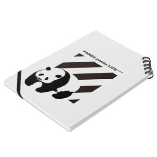 飛び出すパンダ ストライプ Notes
